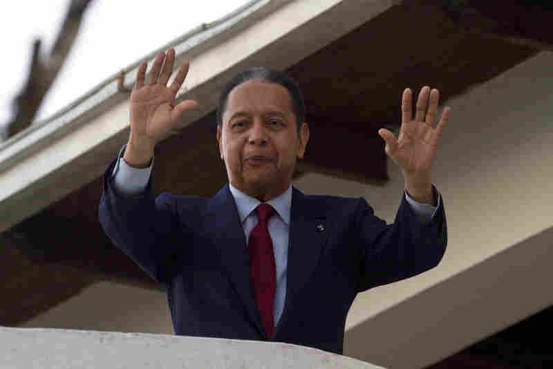 "Haiti's Jean-Claude ""Baby Doc"" Duvalier also chose exile. After living comfortably in France for more than 20 years, Duvalier returned to Haiti in January, where he was arrested. He was released and is currently awaiting trial in Haiti."