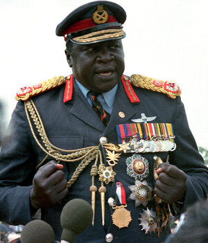 Uganda's Idi Amin also fled his country. He found exile first in Libya, of all places, then in Saudi Arabia, where he occupied the top two floors of a hotel for more than 20 years prior to his death in 2003.