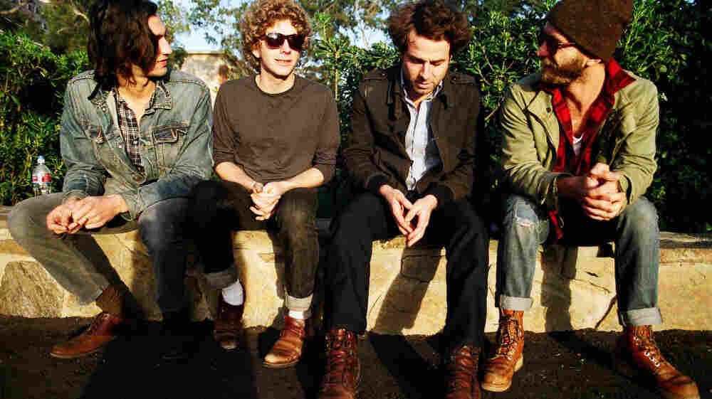 Dawes performs live on today's World Cafe.