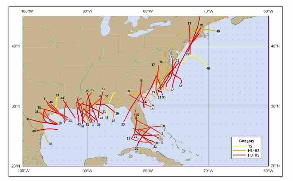 The deadliest hurricanes.