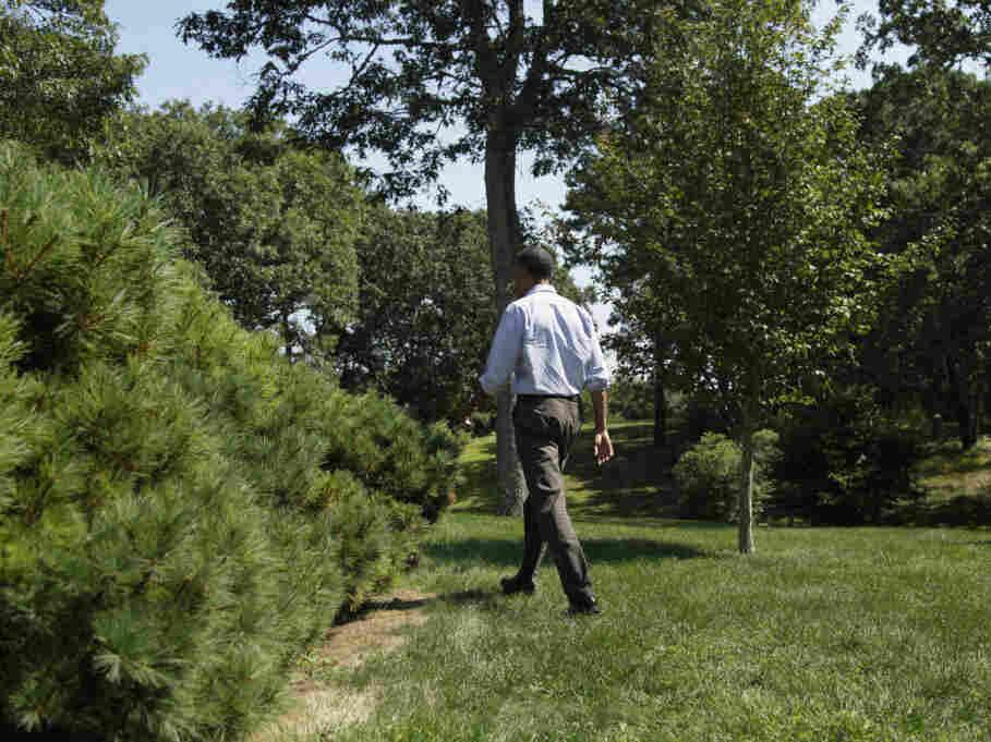President Obama is cutting short his Martha's Vineyard vacation because of Hurricane Irene.