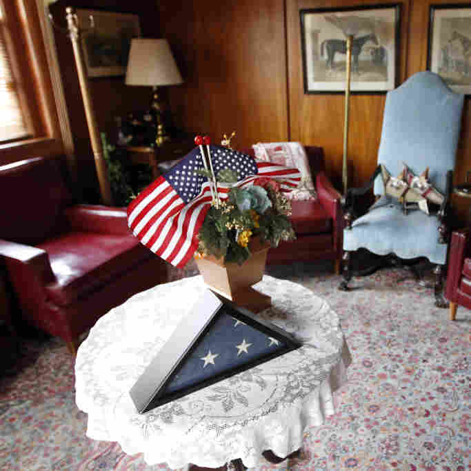 Gen. John Joseph Pershing's room at  Walter Reed Army Medical Center, the military's flagship hospital. The center is closing its doors after treating hundreds of thousands of America's war wounded, and several presidents.