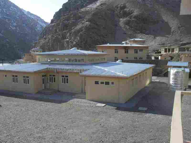Goodnight's simplified model of an Afghan police station.
