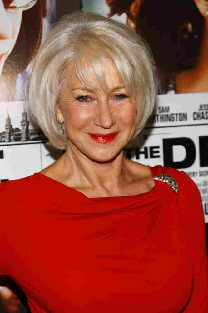 Actress Helen Mirren attends a screening of The Debt last week.