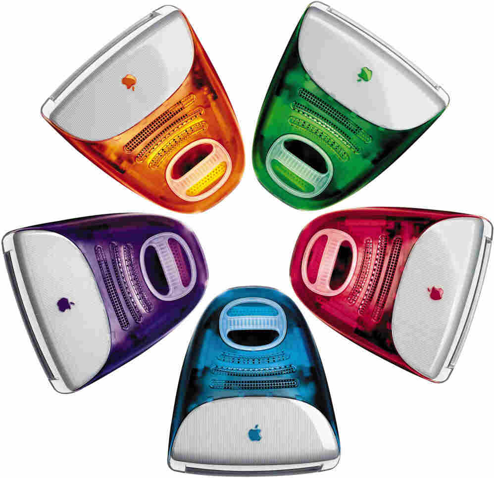 In 1999, Apple unveiled five new colors to its line of iMac desktop computers.