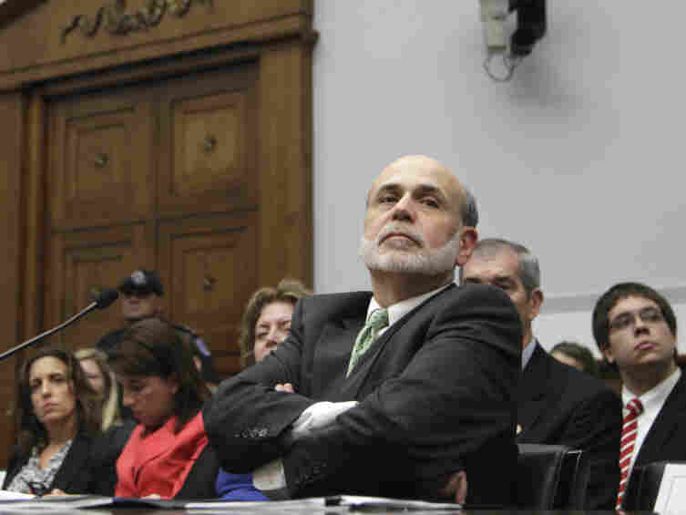 Federal Reserve Chairman Ben Bernanke listens to questions on Capitol Hill  in Washington, Wednesday, July 13, 2011, as he testified before the House Financial Services Committee where he delivered the semiannual Monetary Policy Report.