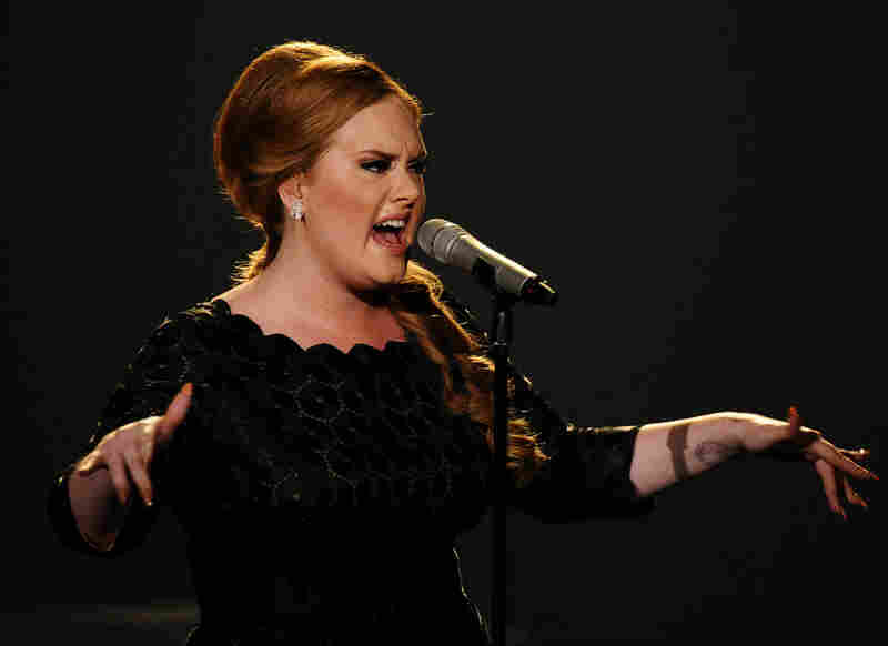 "What really seemed transgressive, perhaps more than all the crazy hats and drag kings, was Adele, performing the arresting ""Someone Like You"" as ... herself."