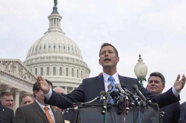 Rep. Sean Duffy (R-WI) is one politician banned from the Wausau Labor Day parade.