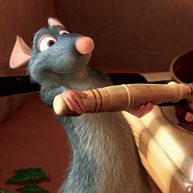 Patton Oswalt is the voice behind Remy the rat, hero of Ratatouille, who likes his cheese avec des oeufs.