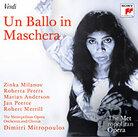cover art for Verdi's Un Ballo in Maschera