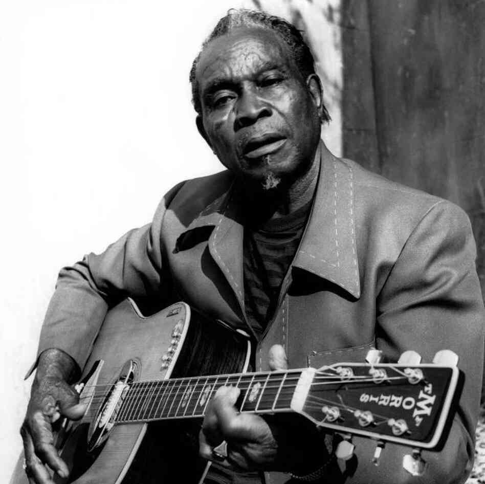 "David ""Honeyboy"" Edwards in an undated photo."