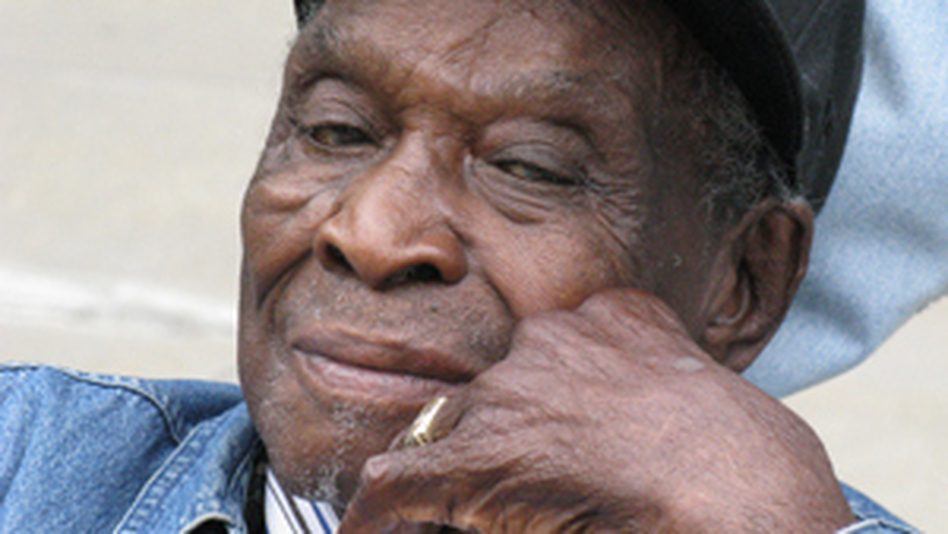 """David """"Honeyboy"""" Edwards was recorded by musicologist Alan Lomax for the Library of Congress. (NPR)"""