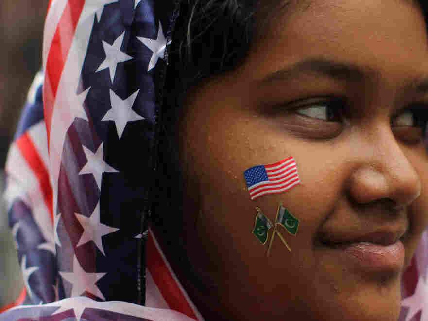 In New York City last September, Aliza Fatima of Queens took part in the American Muslim Day Parade.