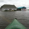Sallee Tee's restaurant in Monmouth Beach, N.J., was flooded following Hurricane Irene.