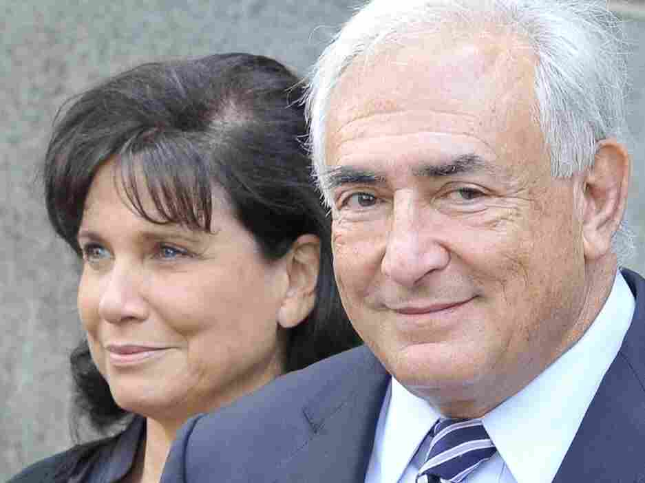 NPR mistakenly reported that Dominique Strauss-Kahn was acquitted. The charges were actually dismissed.