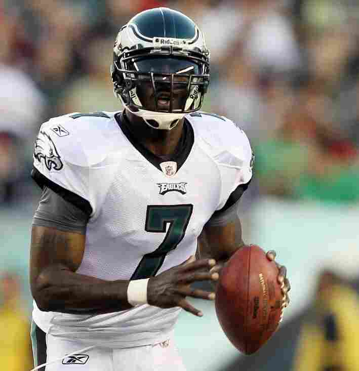 Michael Vick, quarterback of the Philadelphia Eagles, earlier this month.