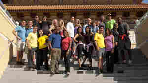 The cast of the upcoming season of CBS's The Amazing Race.
