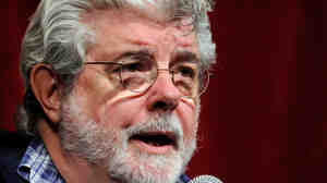 Filmmaker George Lucas, seen here in March 2011, is the subject of another round of really really angry comments over alleged tweaks he's made to The Return Of The Jedi for its upcoming Blu-ray release.