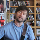 King Creosote and Jon Hopkins perform a Tiny Desk Concert on July 15, 2011 at the NPR Music offices.