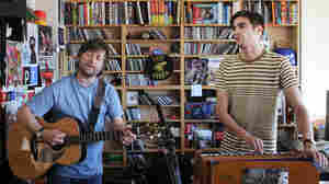King Creosote And Jon Hopkins: Tiny Desk Concert