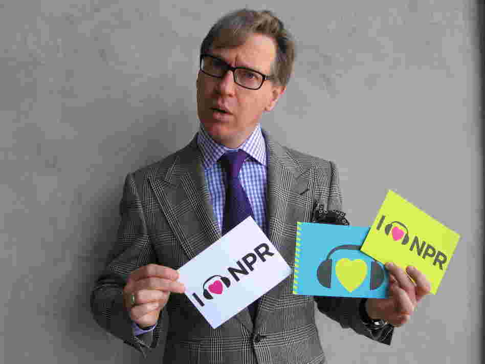 Director, actor and author Paul Feig at NPR's west coast office.