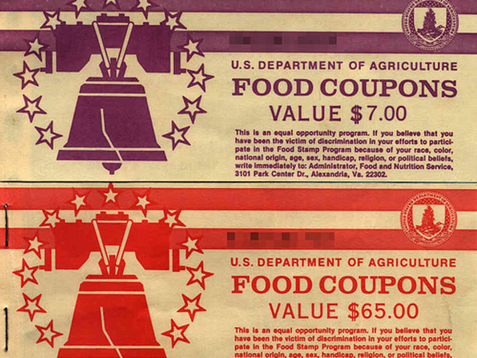 Food stamps from the 90s.