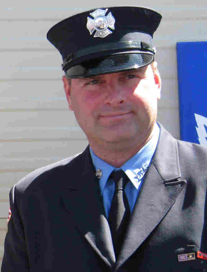 Ken Haskell is a second-generation New York City firefighter and an expert in rescue techniques. Haskell lost two brothers — also firefighters — in the World Trade Center on Sept. 11.