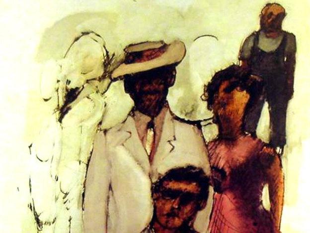 Artwork for Bill Potts' 1959 album, The Jazz Soul of Porgy and Bess.