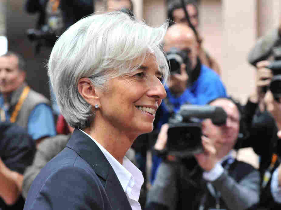 Christine Lagarde, bomb thrower.