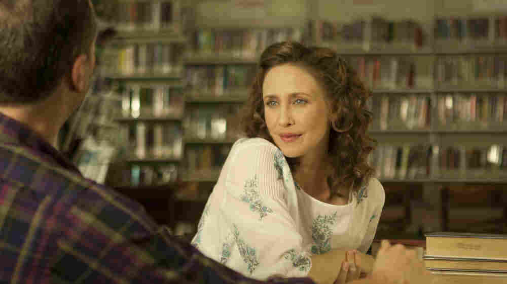 Vera Farmiga plays Corinne Walker, a woman who decides to join and then flee a fundamentalist religious group. The film, directed by Farmiga, is based on Carolyn S. Briggs' memoir This Dark World.