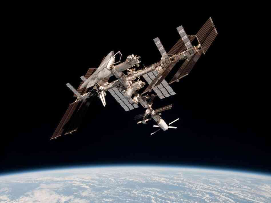In June, the International Space Station had a near miss with some debris.