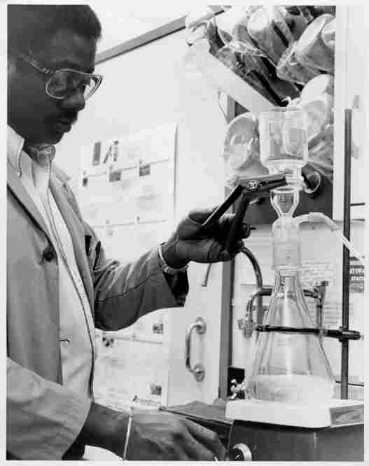 A researcher works in the Walter Reed lab in the 1980s. The Walter Reed Army Institute of Research has made a number of strides in combating infectious diseases. Among its contributions: vaccines for typhoid, Japanese encephalitis, meningococcal meningitis and Hepatitis A, as well as the first-ever malaria vaccines.
