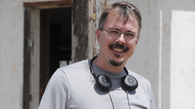 Breaking Bad creator Vince Gilligan received a B.F.A. in film production from NYU's Tisch School of the Arts. To make his meth-making drama realistic, Gilligan seeks guidance from chemists and former drug dealers. (AMC)