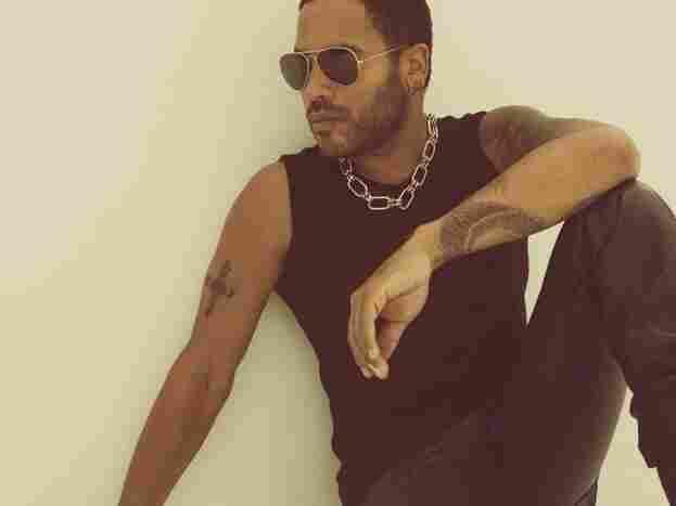 Lenny Kravitz's new album is called Black and White America.