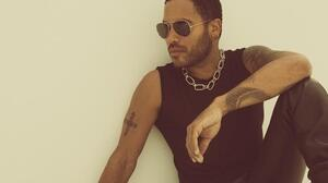 Lenny Kravitz's new album is called Black and White America.