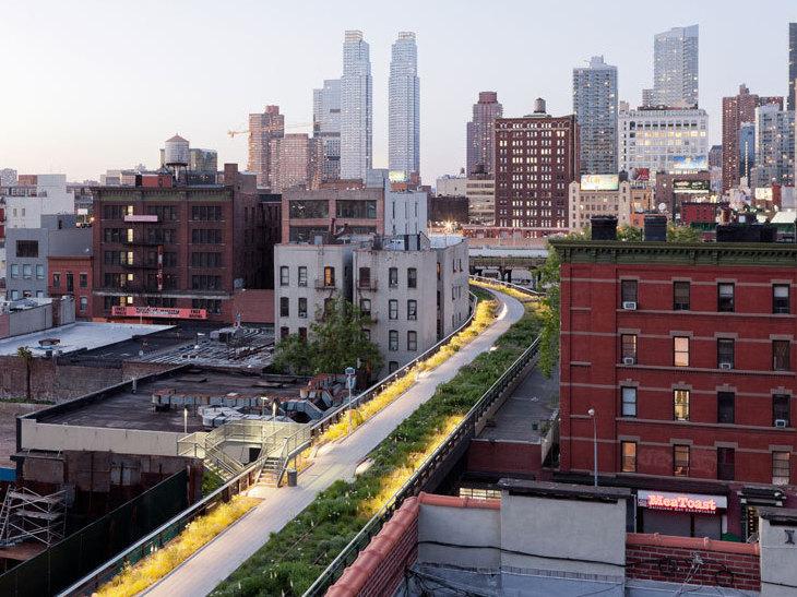 The inside track on new york city 39 s high line npr for New york city highline