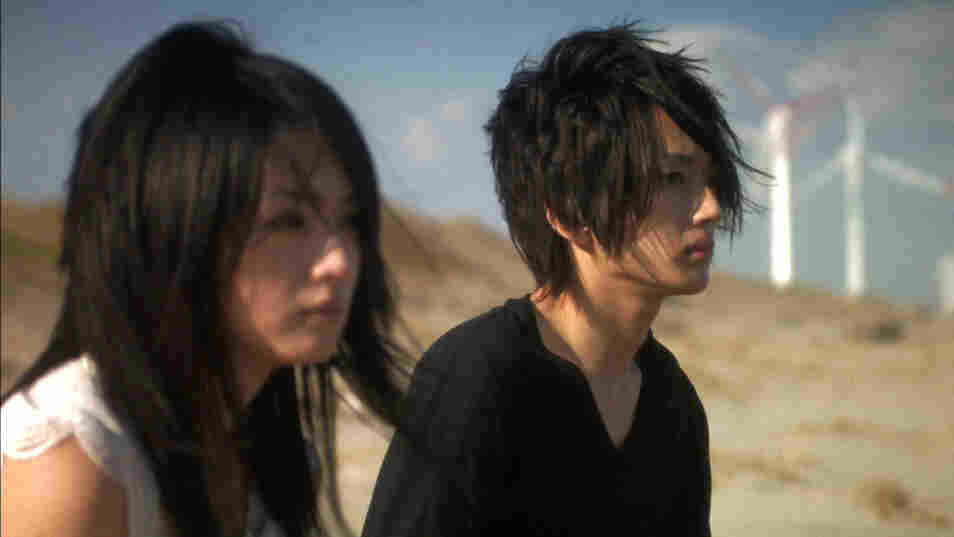 On The Beach: Hikari Mitsushima and Takahiro Nishijima, as two troubled  Japanese teens, have a rare quiet moment during the mayhem of Love  Exposure.