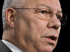 Former Secretary of State Colin Powell, during an address in Washington, D.C., on March 1, 2010.