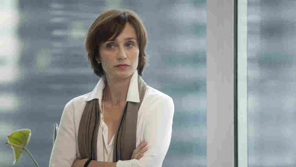 Hostile Work Environment: Kristin Scott Thomas plays an executive with a mean streak in Alain Corneau's Love Crime, a tale of corporate intrigue and personal revenge.