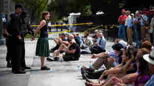 For Protesters, Keystone Pipeline Is Line In Tar Sand
