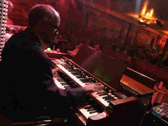 Organist Chris Foreman plays at the Green Mill Tavern in Chicago.