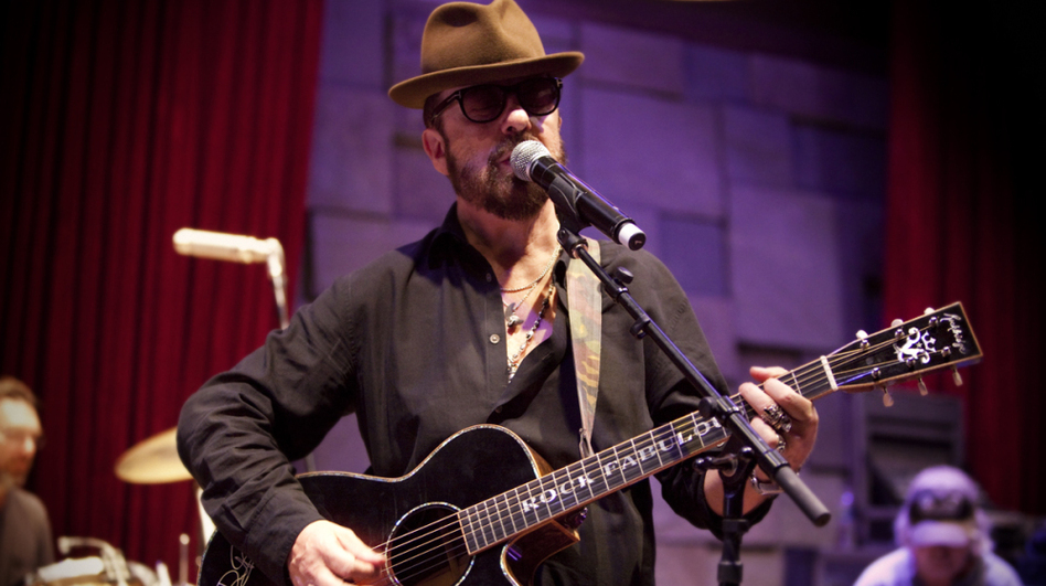 Dave Stewart's new album is titled The Blackbird Diaries. (Kristin Burns)