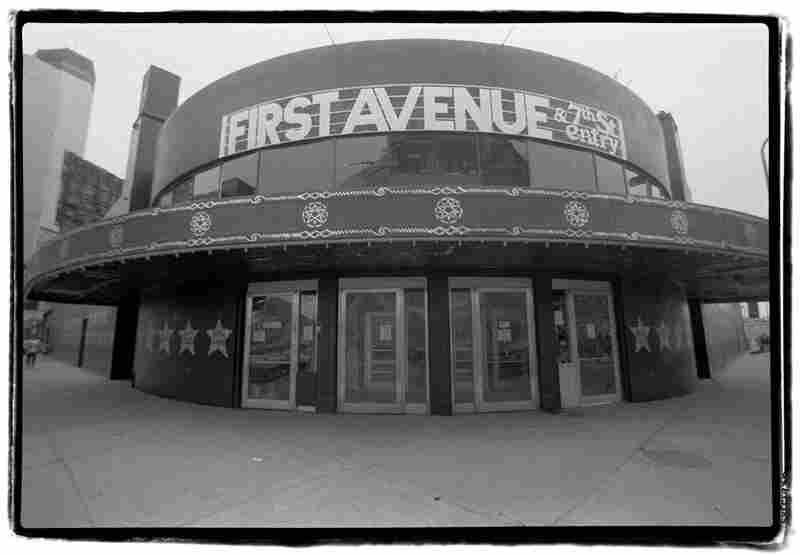 The First Avenue nightclub during the Purple Rain era.