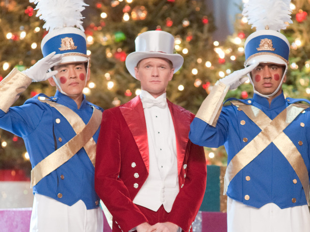 <strong>Tin(pot) soldiers:</strong> John Cho, Neil Patrick Harris, and Kal Penn in <em>A Very Harold & Kumar Christmas</em>