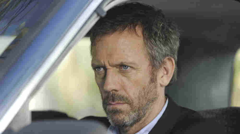 Hugh Laurie, seen here playing Dr. Gregory House on House, has a new project.
