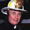 "Father Mychal Judge became a fire department chaplain in 1992 — and he liked to join company drills. One retired fireman recalls, ""I could picture him, chopping down a door with an axe. He would love to do that, too."""
