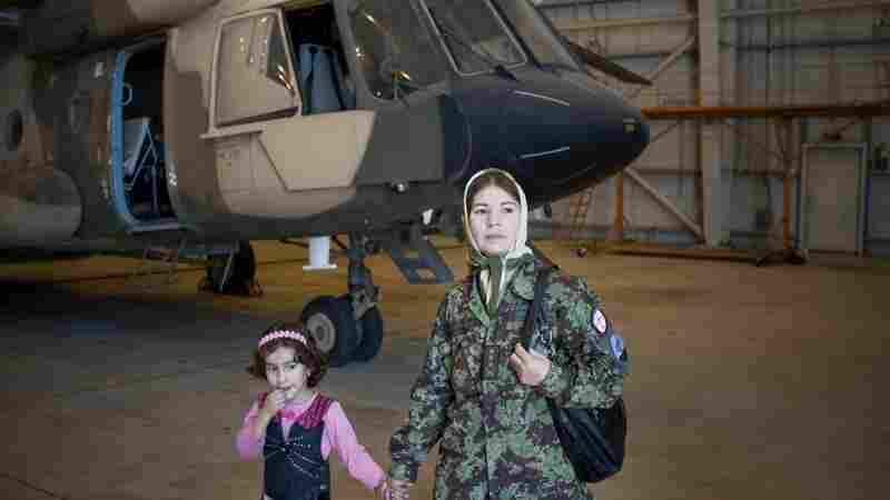 A Long, Turbulent Journey For Afghan Female Pilot