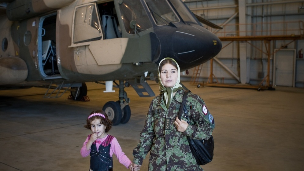 a long  turbulent journey for afghan female pilot   npr
