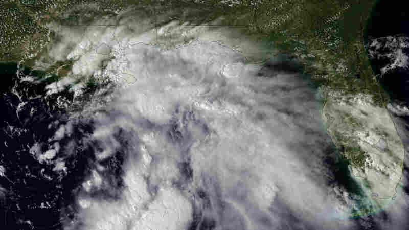 Gulf Coast Soaking Starts, Other States Still Recovering From Irene