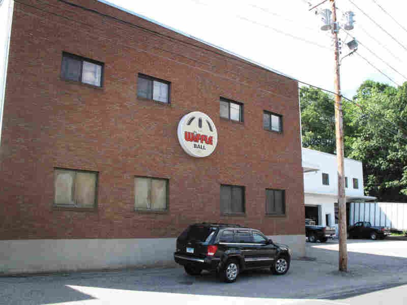 The Wiffle Ball headquarters in Shelton, Conn. Every Wiffle Ball is made in the U.S.